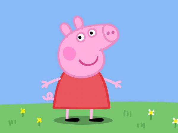 Peppa Pig Photo Cake #2