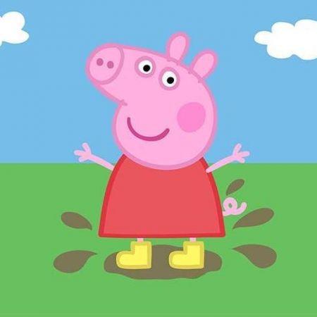 Peppa Pig Photo Cake #3