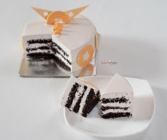 Choco Hazelnut Cake