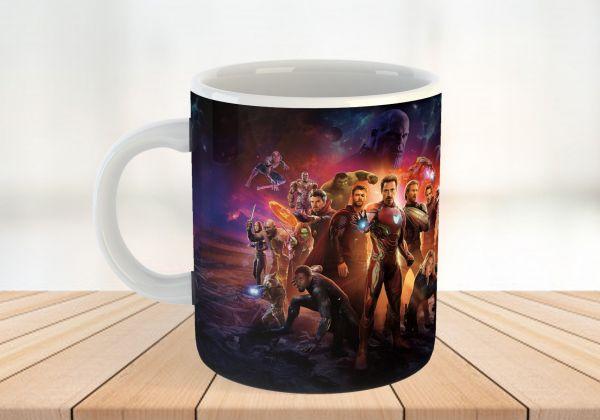 Super Hero Personalised Mug