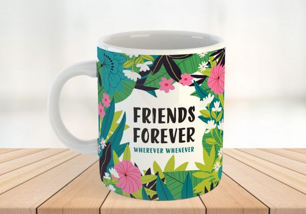 Friends Forever Personalised Mug