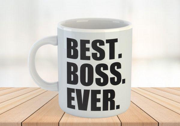 Personalized Office Man Caricature Mug