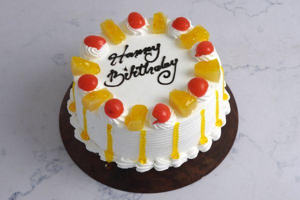 Pineapple (dedicate song through) Cake