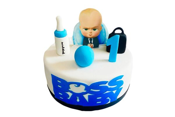The Boss Baby Cake - Customizable