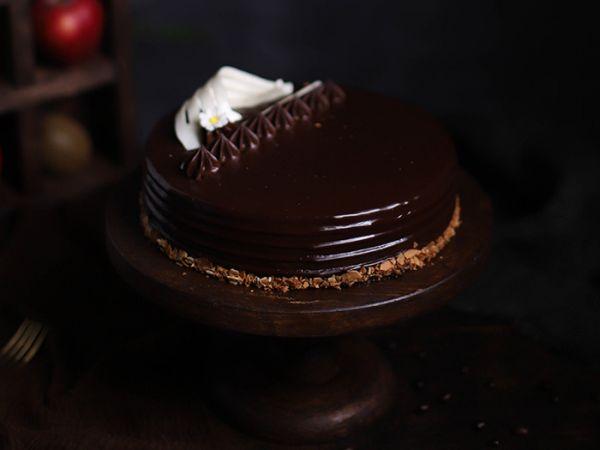 Belgian Dark Chocolate Entremet Cake