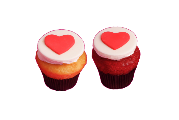 Valentine Cupcake - Pack Of 2