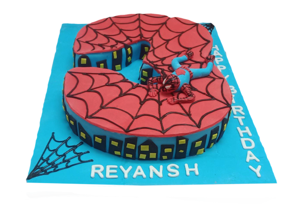 Spiderman Happy Birthday Cake