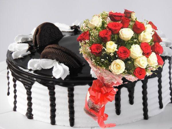 Choco Oreo | 10 Roses Combo