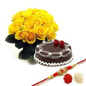 Rakhi Cake Combo