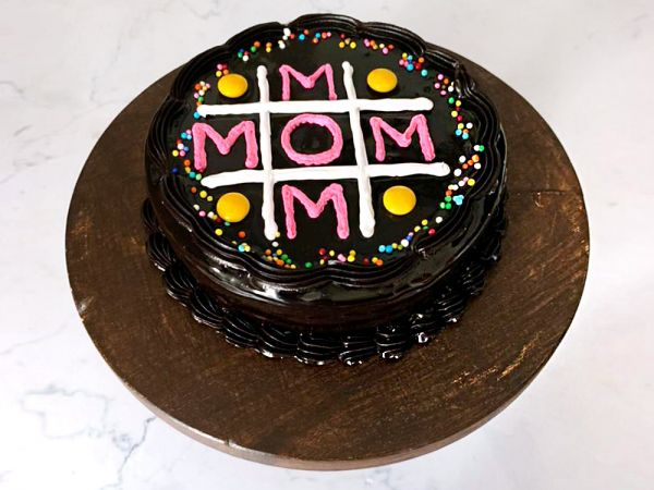 Mother's Day Chocolate Truffle Cake