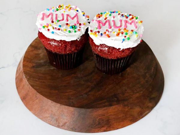 Mother's Day Cup Cake (Red Velvet) Pack of 6