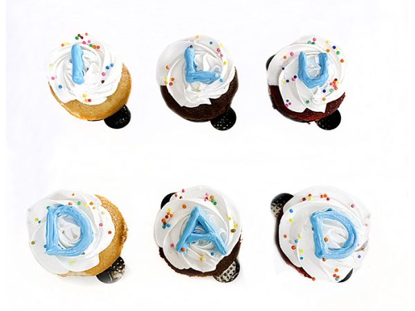 Father's Day Cup Cake Pack of Six