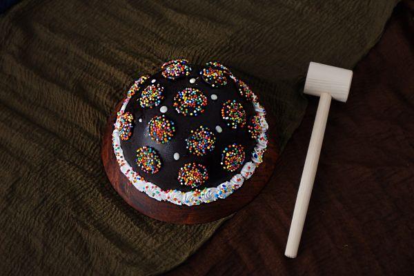Half Round Pinata Cake - Customizable