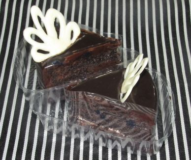 Pastries box Pack of 4 Chocolate Base