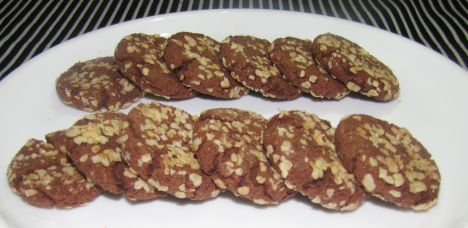 Choco Oats Cookies (Pack of 12)