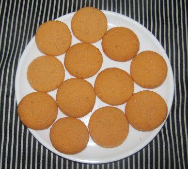 Coconut orange Cookies (Pack of 12)