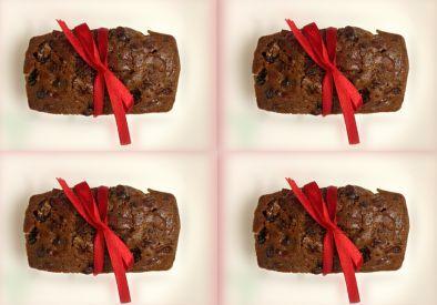 Xmas Gift Plum Cake (4 Cakes)