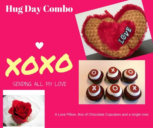 Valentine Hug Day Feb 12
