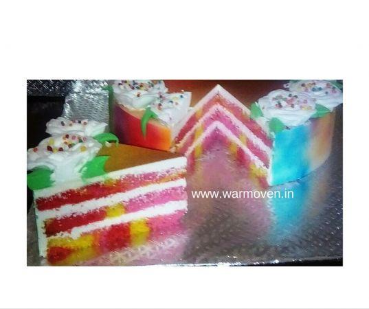 Rangeela Holi Cake