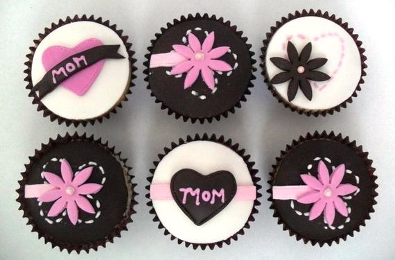 Mothers Day Designer Cupcakes