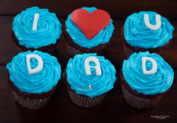 Love Dad Cupcakes