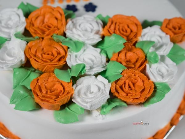 Colours of India Cake