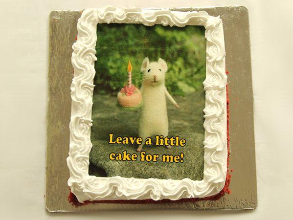 Personalised Photo Cake