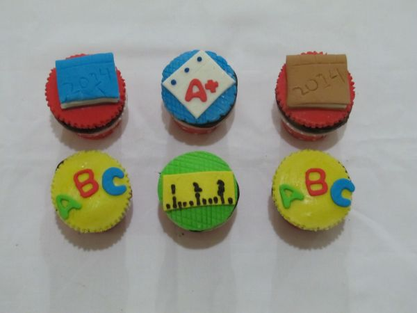 Teachers Day Cupcakes
