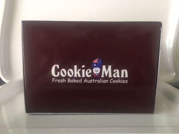 Cookieman Cookies Flat Box