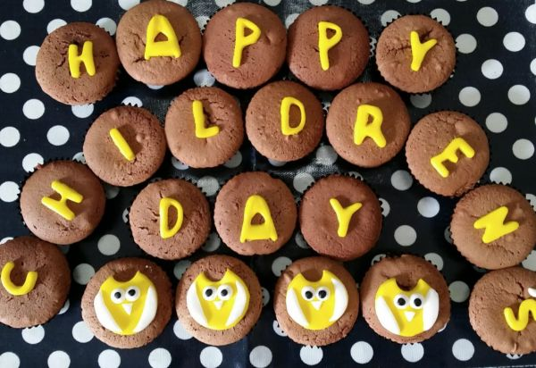 Kids Cupcakes for Children's Day