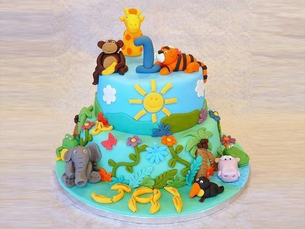 Jungle Theme Cake - Customizable