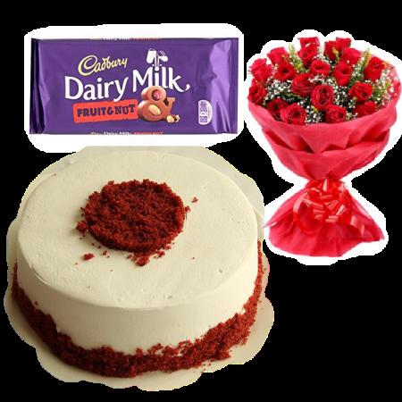 RedVelvet Cadbury Roses Gift