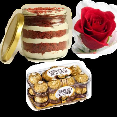 RedVelvet Ferroro Rose Gift