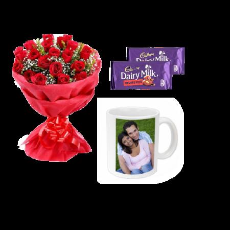 Rose combo Mug for Her