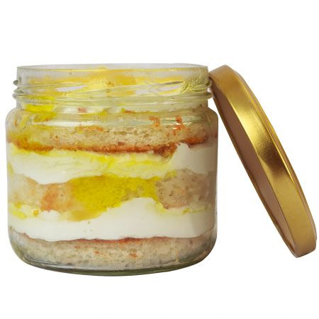 Pineapple Cake in a Jar