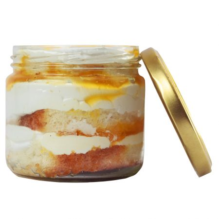 Mango Cake in a Jar