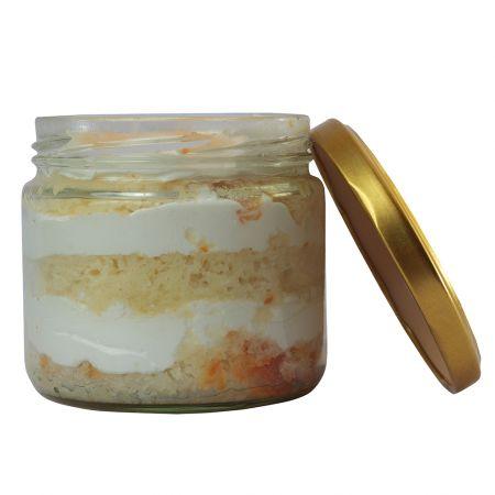 Litchi Cake in a Jar