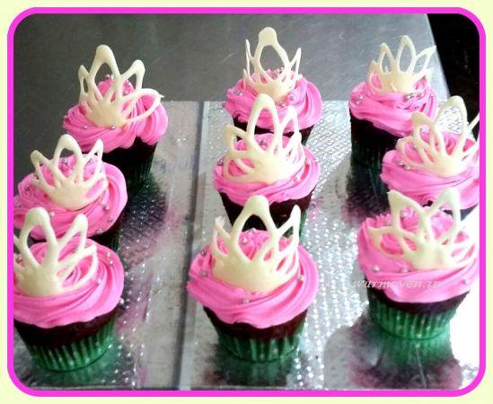 Women's Day Cupcake #1