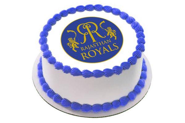 Rajasthan Royals Photo Cake