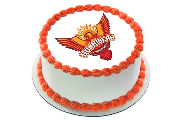 Sunrisers Hyderabad Photo Cake