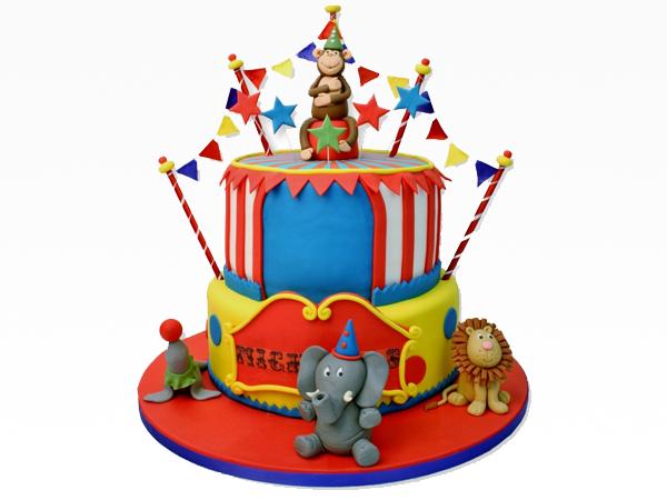 Circus In Town Cake