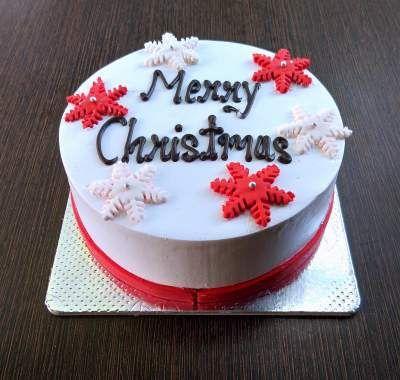 Xmas Theme cake