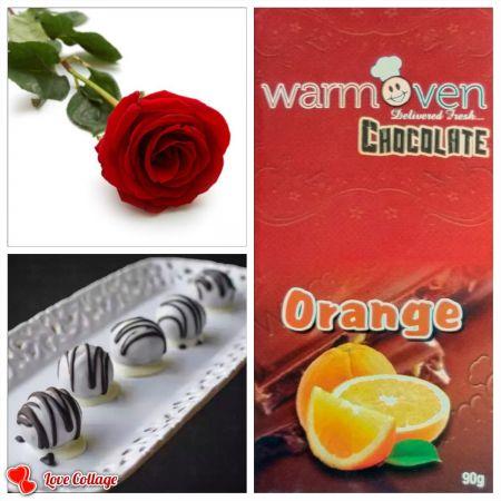 Orange Chocolate Bar Combo 1
