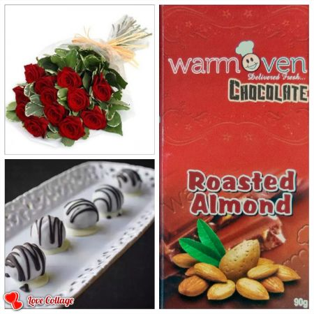 Roasted Almond Chocolate Bar Combo 2