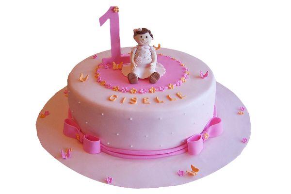 Baby Girl Cake - Customizable