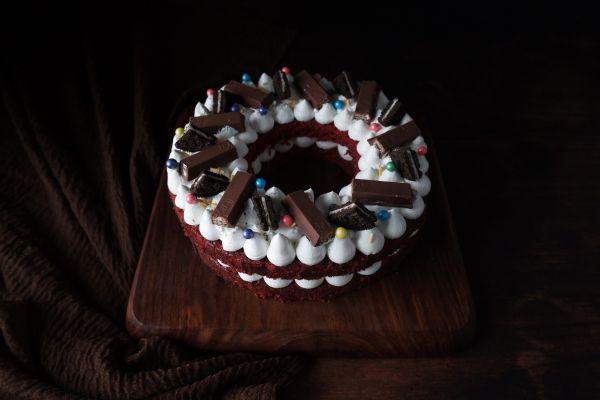 Monogram Number/Alphabet Cake