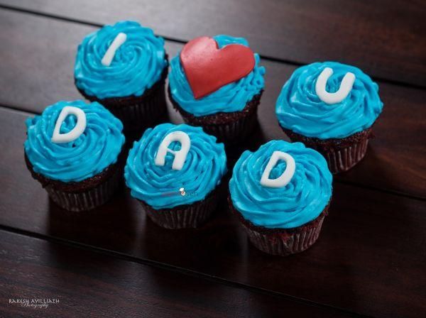 I Love You Cupcakes - Customizable