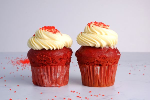 Red Velvet Butter Cupcake | Pack of 6