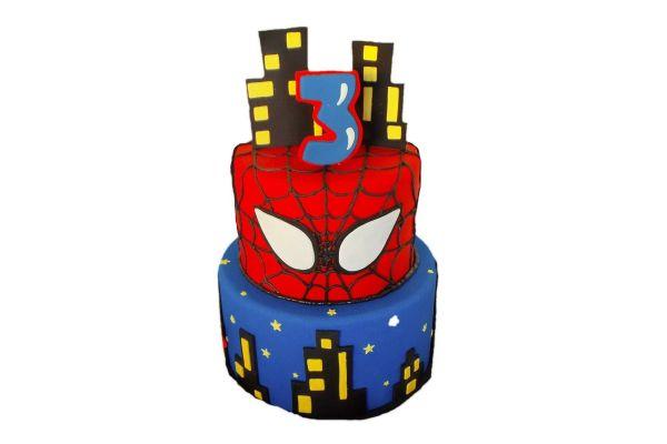 Spiderman Cake - Customizable