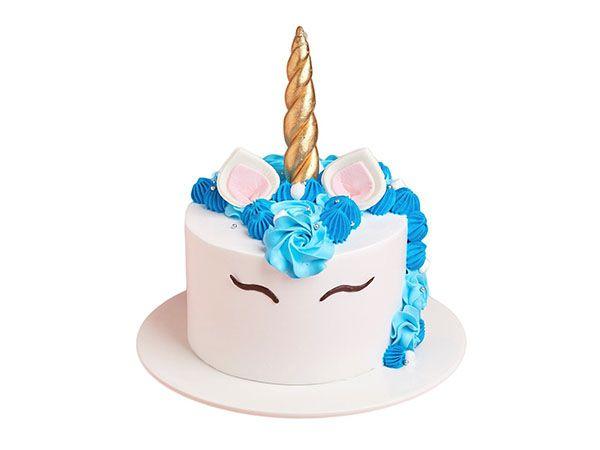 Unicorn Themed Birthday Cake - Customizable
